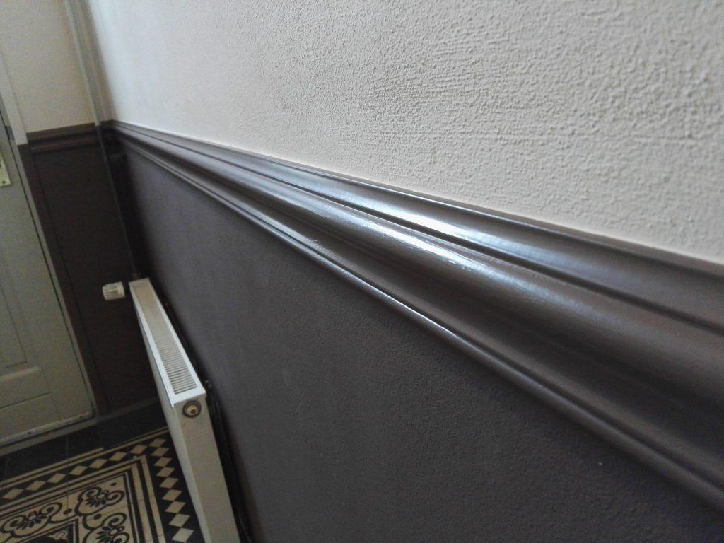 verfspuiten interieur